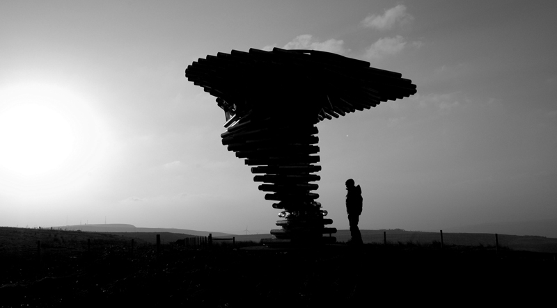 Singing Ringing Tree Silhouette