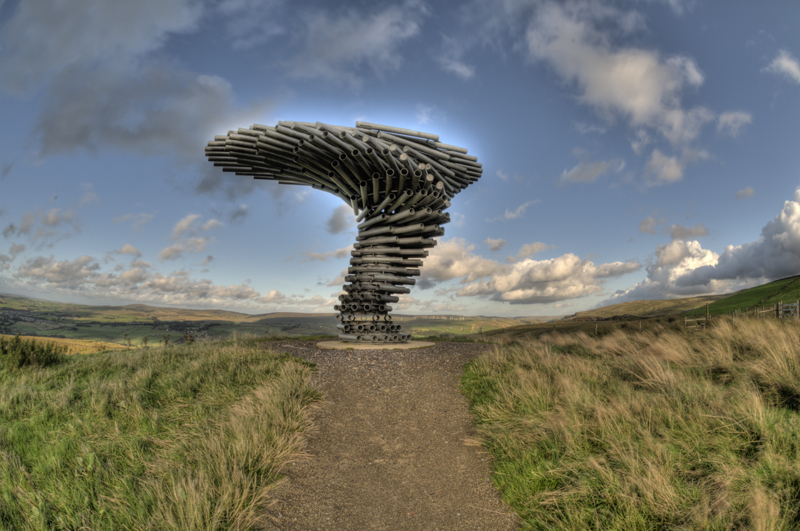 Singing Ringing Tree Panoptican - East