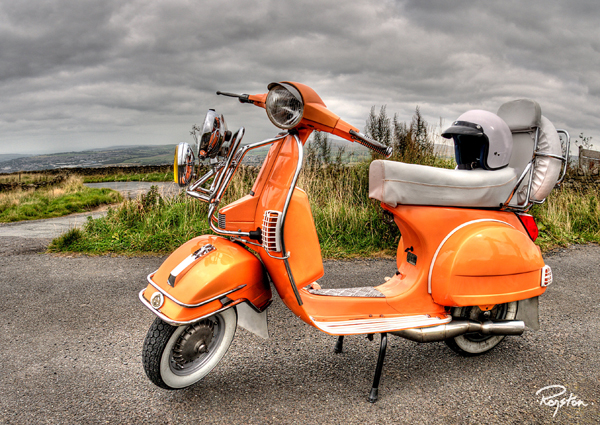 Sharp Vespa