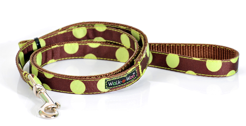 Lime & Choc Spotty Dog