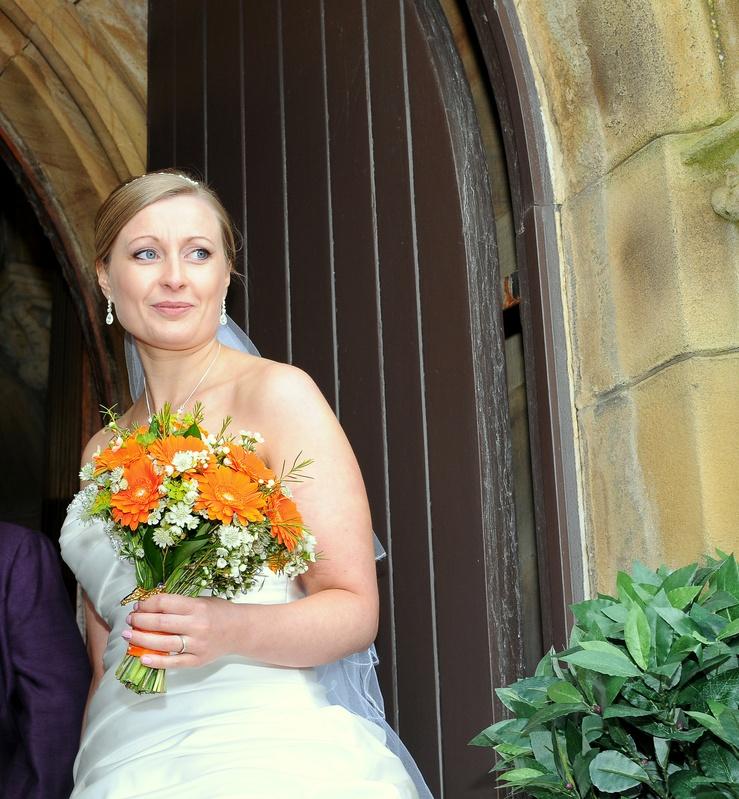 Bride at the Church Door
