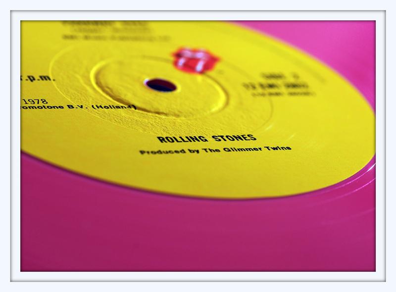 Pink Vinyl Stones
